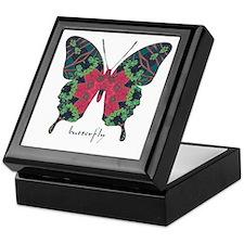 Yule Butterfly Keepsake Box