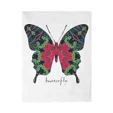 Yule Butterfly Twin Duvet