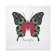 Yule Butterfly Queen Duvet