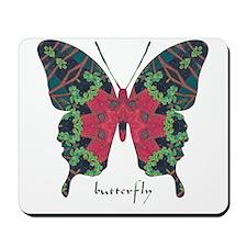 Yule Butterfly Mousepad