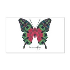 Yule Butterfly 20x12 Wall Decal