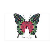 Yule Butterfly 35x21 Wall Decal