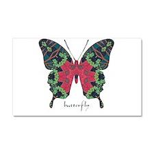 Yule Butterfly Car Magnet 20 x 12