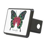 Yule Butterfly Rectangular Hitch Cover