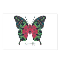 Yule Butterfly Postcards (Package of 8)