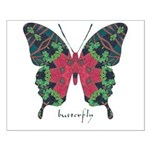 Yule Butterfly Small Poster