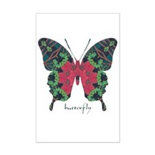 Yule Butterfly Mini Poster Print