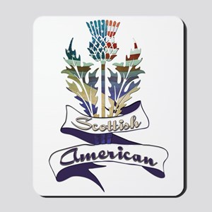 Scottish American Thistle Mousepad