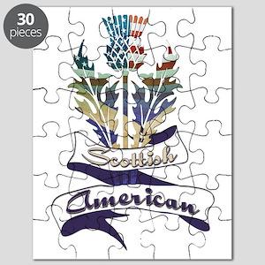 Scottish American Thistle Puzzle