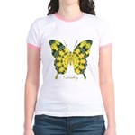 Solarium Butterfly Jr. Ringer T-Shirt