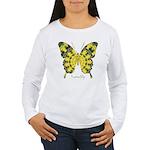 Solarium Butterfly Women's Long Sleeve T-Shirt