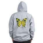 Solarium Butterfly B Zip Hoodie