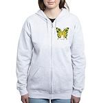 Solarium Butterfly Women's Zip Hoodie
