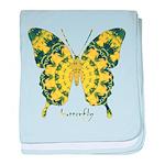 Solarium Butterfly baby blanket