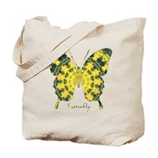 Solarium Butterfly Tote Bag