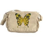 Solarium Butterfly Messenger Bag