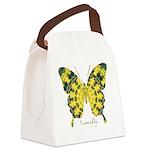 Solarium Butterfly Canvas Lunch Bag