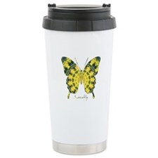 Solarium Butterfly Stainless Steel Travel Mug