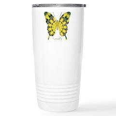 Solarium Butterfly Stainless Steel Travel Mug
