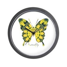 Solarium Butterfly Wall Clock