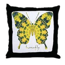 Solarium Butterfly Throw Pillow