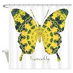 Solarium Butterfly Shower Curtain