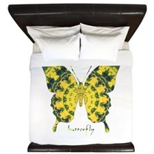 Solarium Butterfly King Duvet