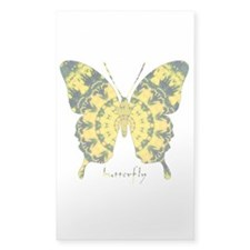 Solarium Butterfly Sticker (Rectangle)