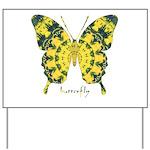 Solarium Butterfly Yard Sign