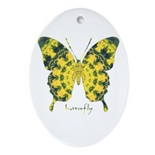 Solarium Butterfly Ornament (Oval)