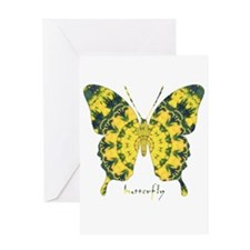 Solarium Butterfly Greeting Card