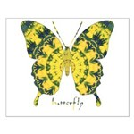 Solarium Butterfly Small Poster