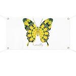Solarium Butterfly Banner