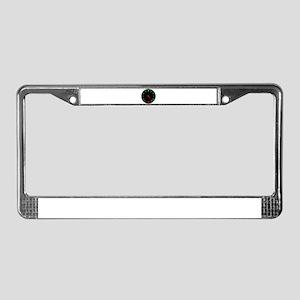 Full Fuel Gauge License Plate Frame