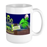 Id Rather Be Elsewhere Large Mug