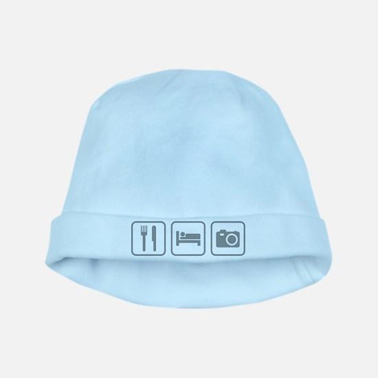 Eat Sleep Photography baby hat