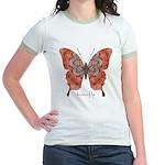Kismet Butterfly Jr. Ringer T-Shirt