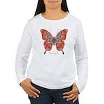 Kismet Butterfly Women's Long Sleeve T-Shirt