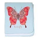 Kismet Butterfly baby blanket
