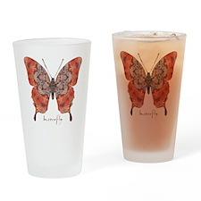 Kismet Butterfly Drinking Glass