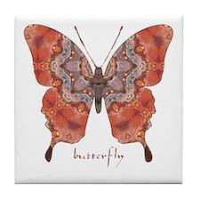 Kismet Butterfly Tile Coaster