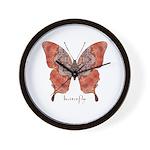Kismet Butterfly Wall Clock