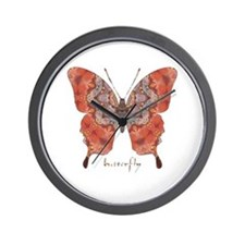 Kismet Butterfly Wall Clock