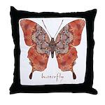 Kismet Butterfly Throw Pillow