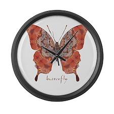 Kismet Butterfly Large Wall Clock