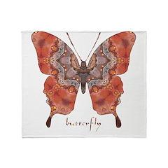 Kismet Butterfly Throw Blanket