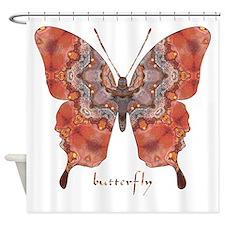 Kismet Butterfly Shower Curtain