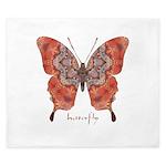 Kismet Butterfly King Duvet