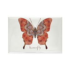 Kismet Butterfly Rectangle Magnet