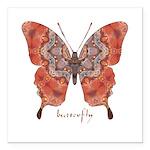 Kismet Butterfly Square Car Magnet 3